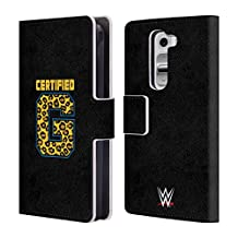 Official WWE Certified G Enzo And Big Cass Leather Book Wallet Case Cover For LG Nexus 5