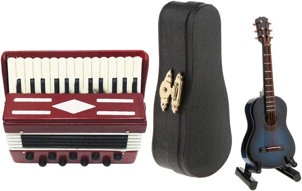 Amazon.es: FLAMEER Juegos de Guitarra de Acordeón para Muñecas ...