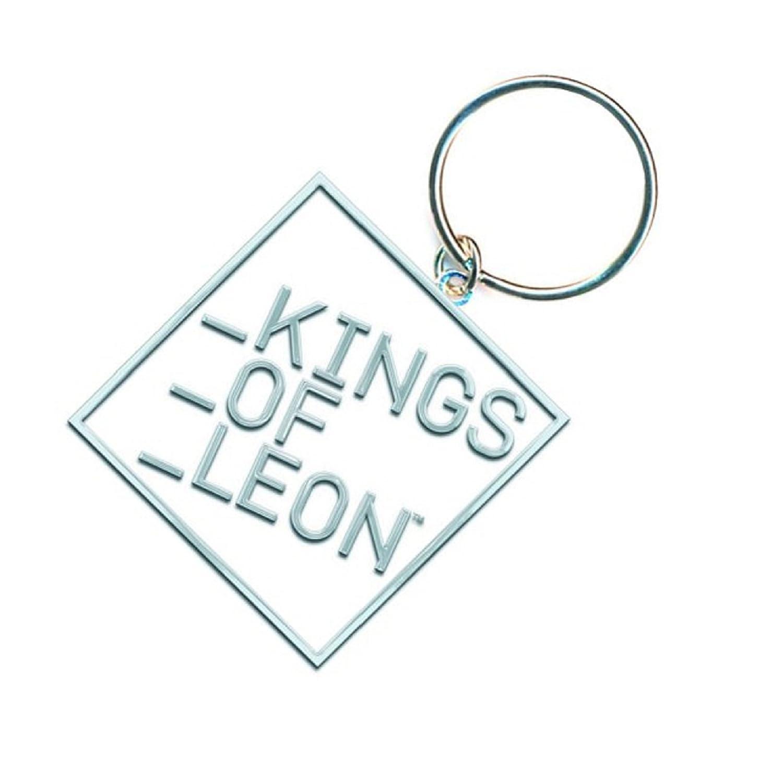 Amazon.com: Kings of Leon bloque de llavero banda logotipo ...
