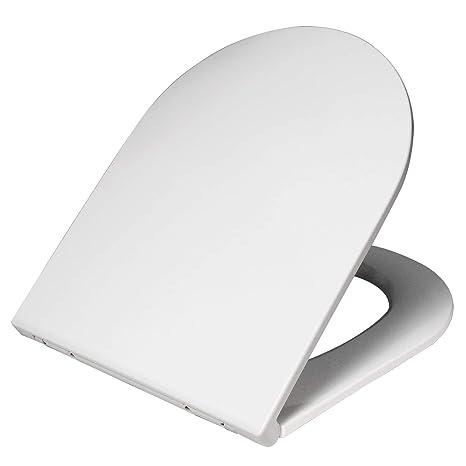 Toilettensitz WC Sitz DUROPLAST Absenkautomatik FixClip Edelstahl-Befestigung