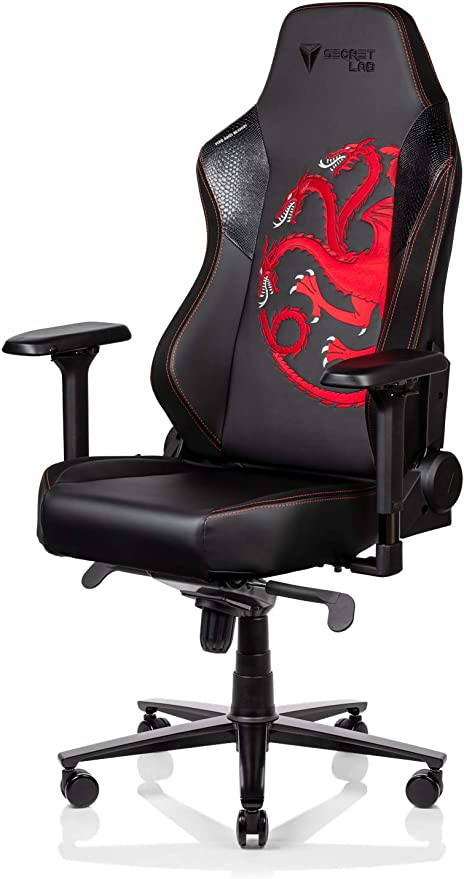 Secretlab Titan 2020 Game of Thrones House Targaryen Gaming Chair