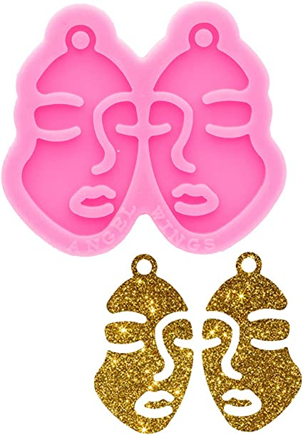 Shiny Water Tear drop shape Silicone Mold Mould epoxy resin food safe crafts