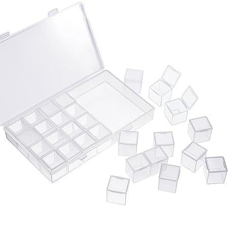 Amazon.com: Caja grande separada para bordar diamantes, caja ...