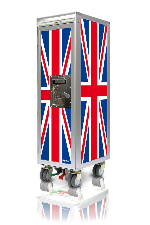 Skyboxx Flag GBR neu Flugzeugtrolley, inklusiv 7 Kunststoffschubladen