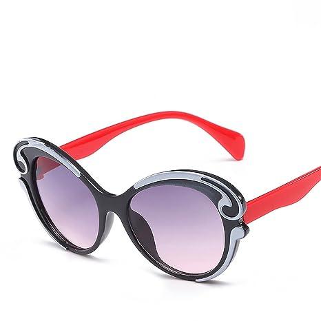 HCIUUI Nueva UV niños espejo moda personalidad niños gafas ...