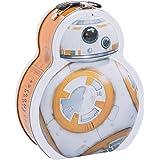 Vandor 99670 Star Wars BB-8 Shaped Tin Tote, Multicolored