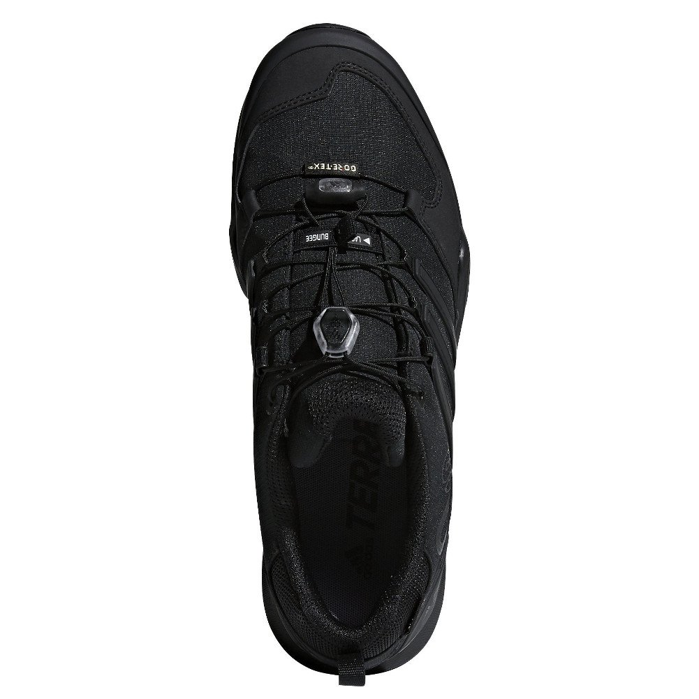adidas outdoor Terrex Swift R2 GTX Mens Hiking Boot Black/Black/Black, Size 6.5 by adidas outdoor (Image #3)