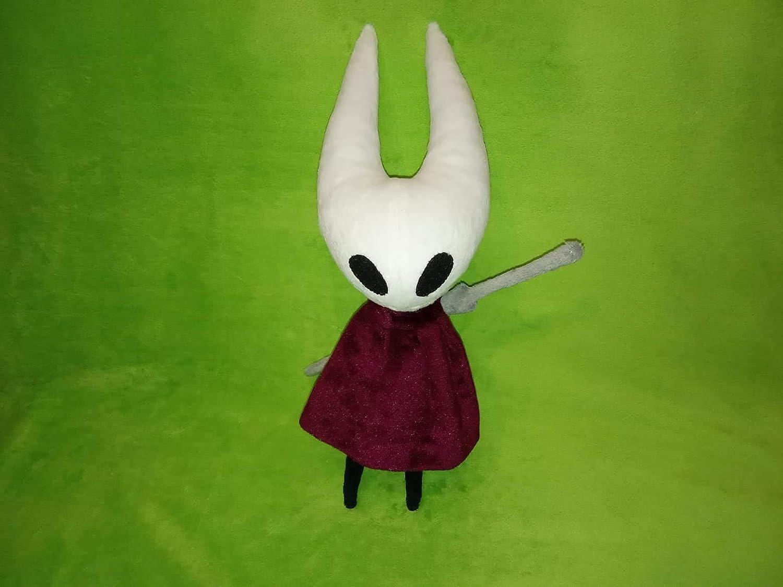 Inspired by hollow knight Hornet fun art custom plush 30 cm minky