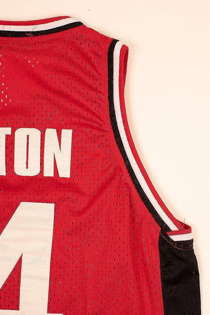 Boriz Zac E Troy Bolton 14 East High School Wildcats Red Patch Basketball Jersey Tanks Stich