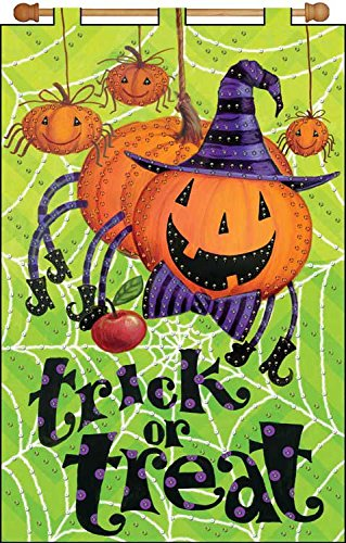 "Jeweled Beads Kit 16"" X 24"" Banner ~ Trick or Treat"