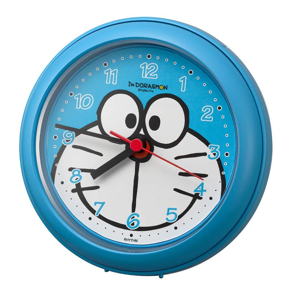 리듬 시계 공업(Rhythm) 라이트 블루Φ11.8x4.8cm 도라에몽 벽시계 욕실 나와 쓸만한 강화 방적 clock 4KG716DR04