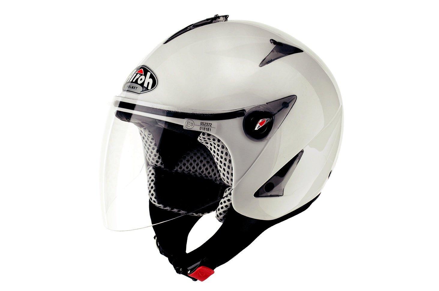 Airoh Open Face Casco, Nero Opaco, XL Locatelli Spa JT11XL