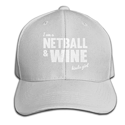 78cd1eec1da Yishuo NETBALL AND WINE HOODIE Unisex Solid Color CapSports Hats Adjustable
