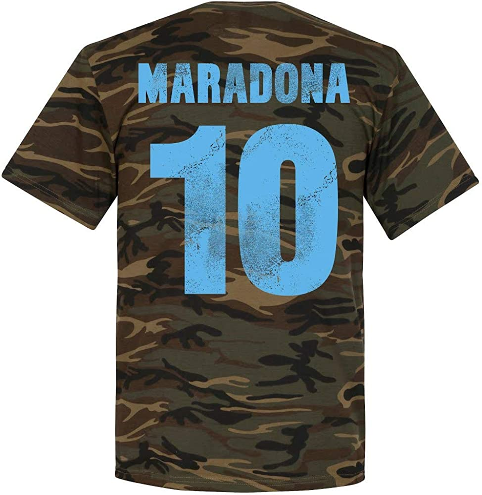 Retake Napoli Maradona T-shirt camouflage