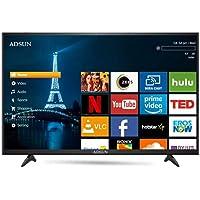 ADSUN 140 cm (55 Inches) 4K Ultra HD Smart LED TV 55AESL1 (Black) (2019 Model)