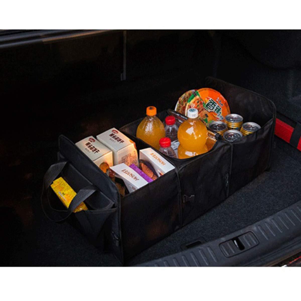 ZONSUSE Car Boot Organizer Car Trunk Organizer Upgrade per la Scatola di immagazzinamento di Utensili Portatili Pieghevole Compatibile con Auto SUV Rosso