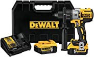 DEWALT DCD996P2R 20V MAX XR Cordless Lithium-Ion 1/2 in. Brushless 3-Speed Drill Driver Kit with (2) 5.0 Ah Battery Packs (R