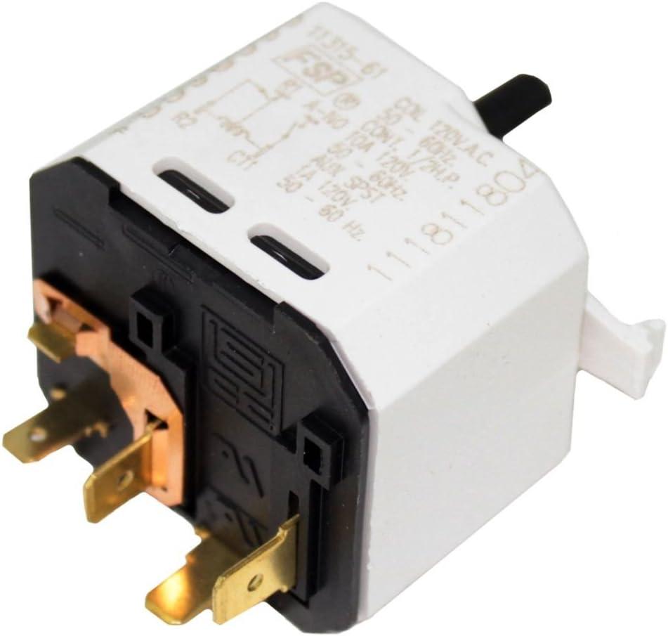 OEM Whirlpool W3404233 Dryer Push-to-Start Switch Genuine Original Equipment Manufacturer Part