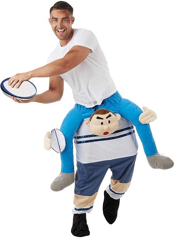 Fun Shack Huckepack Rugbyspieler Trajes, Piggyback Jugador De ...