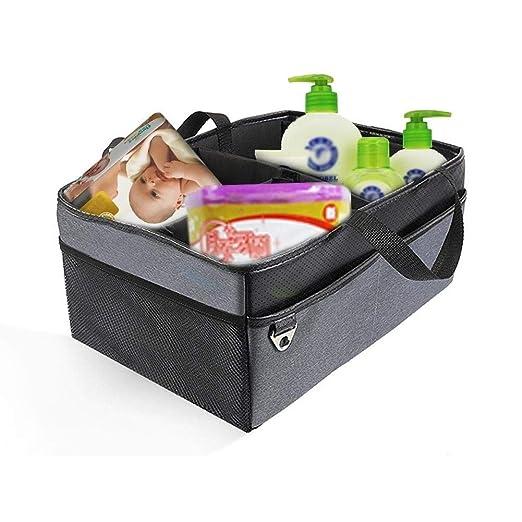 Caja de almacenamiento con tapa Baby Diaper Caddy Organizer ...