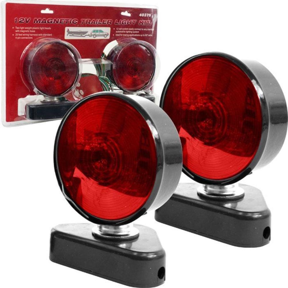 Stalwart 75 1872mc 12v Magnetic Trailer Light Kit Lights Wiring Diagram Everything Else