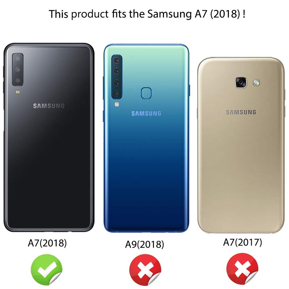 NALIA Carcasa Motivo Compatible con Samsung Galaxy A7 2018, Ultra ...