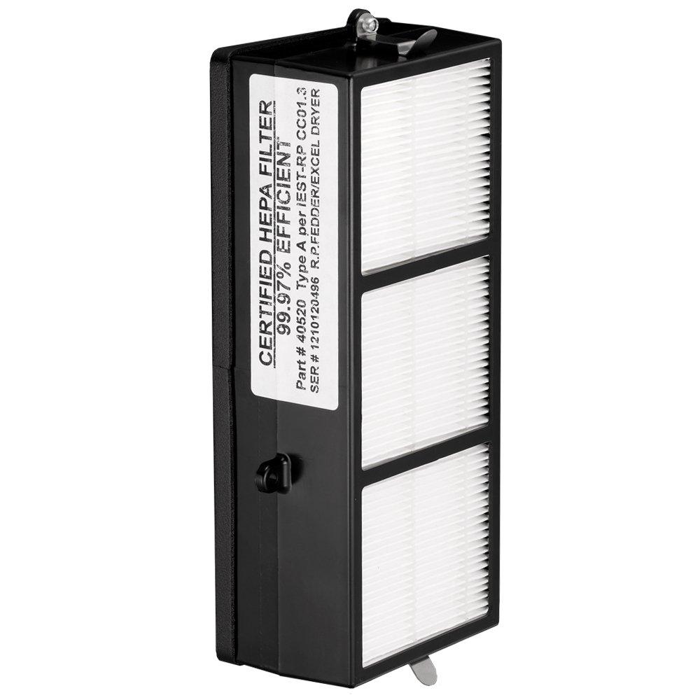 Excel Dryer 40520 Certified XLERATOR HEPA Filter Replacement, 8-5/8