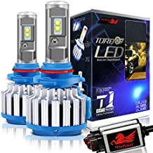 Win Power 9006 LED Headlight Bulbs Conversion Kit 6000k Cool White 7200 Lumens HB4 Cree Fog Lights/Low Beam Headlight Bulb Replacement+ Canbus-2 Year Warranty