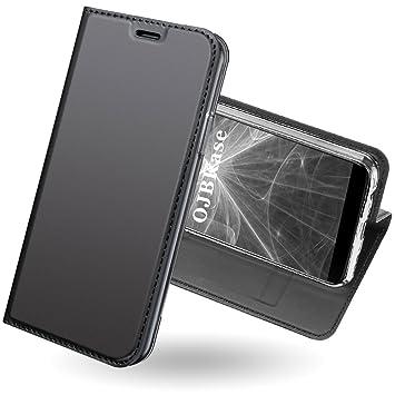 Funda OnePlus 5T,OJBKase® Ultra-Delgado Premium piel ...