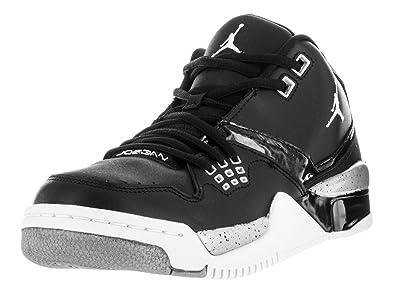 best website 287dd d07b8 Zapatillas Nike - Jordan Flight 23 BG Negro Blanco Plateado 40  Amazon.es   Zapatos y complementos