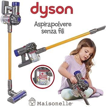 ODS- V8 MAISONELLE Aspirador de Juguete Dyson, Color Gris, Naranja ...