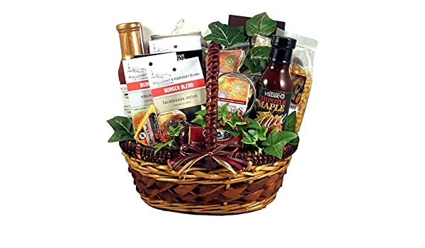 e190e2b4496c6 Amazon.com   He s a Grill Master! Gourmet Mens Grilling Gift Basket (BBQ  and Grilling Gift Basket)   Gourmet Sauces Gifts   Grocery   Gourmet Food