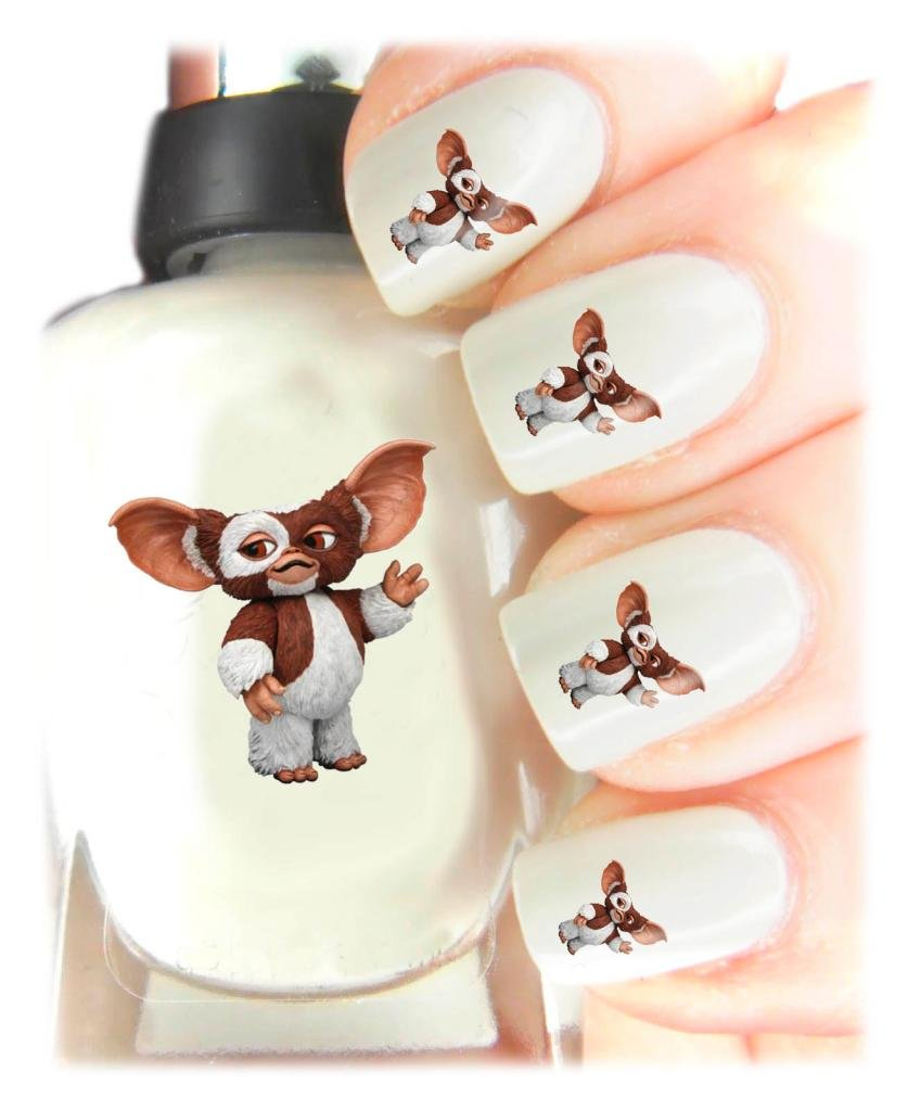Easy to use, High Quality Nail Art Decal Stickers For Every Occasion! Ideal Christmas Present / Gift - Great Stocking Filler Gremlins - Gizmo SNAD