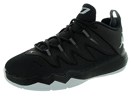 20987376eab Jordan Nike Kids Cp3.ix Bp Black Metallic Silver Anthrct Basketball Shoe  10.5 Kids Us  Amazon.co.uk  Shoes   Bags