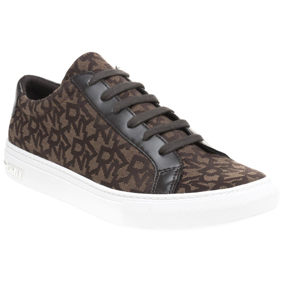 DKNY DKNY DKNY Court Lace Up scarpe da ginnastica Donna scarpe da ginnastica Marrone 0efcb6