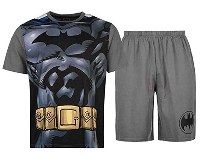 DC Comics - Pijama - para hombre negro Black/Grey/Printed XX-Large