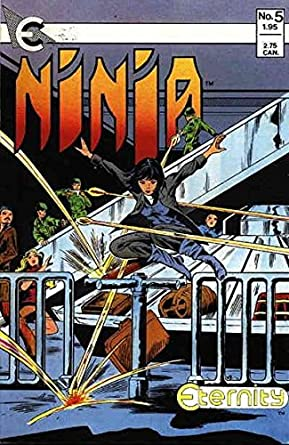 Amazon.com: Ninja #5 FN ; Eternity comic book: Entertainment ...