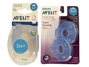 Amazon.com: Philips AVENT Airflex silicona pezón medio Flow ...