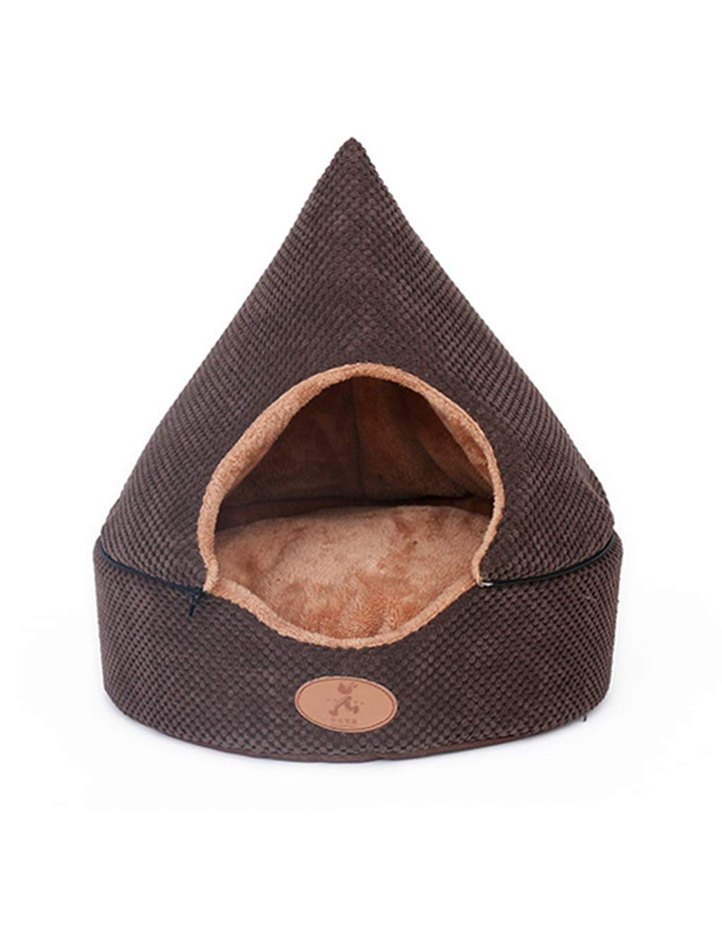 Pet Bed   Creative Cat House with Comfy Thicker Cushion, Detachable Cat Bed  Keep Warm, for Kittens, Kats & Puppys