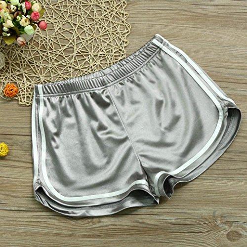 Shobdw Silver Pantaloncini Shobdw Pantaloncini Donna Donna Silver qr6SHxqf