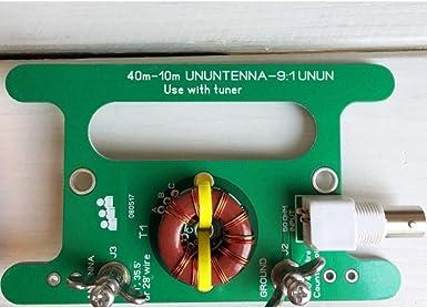 B Baosity 9: 1 Balun Balun One Nine Long Wire HF Antenna ...