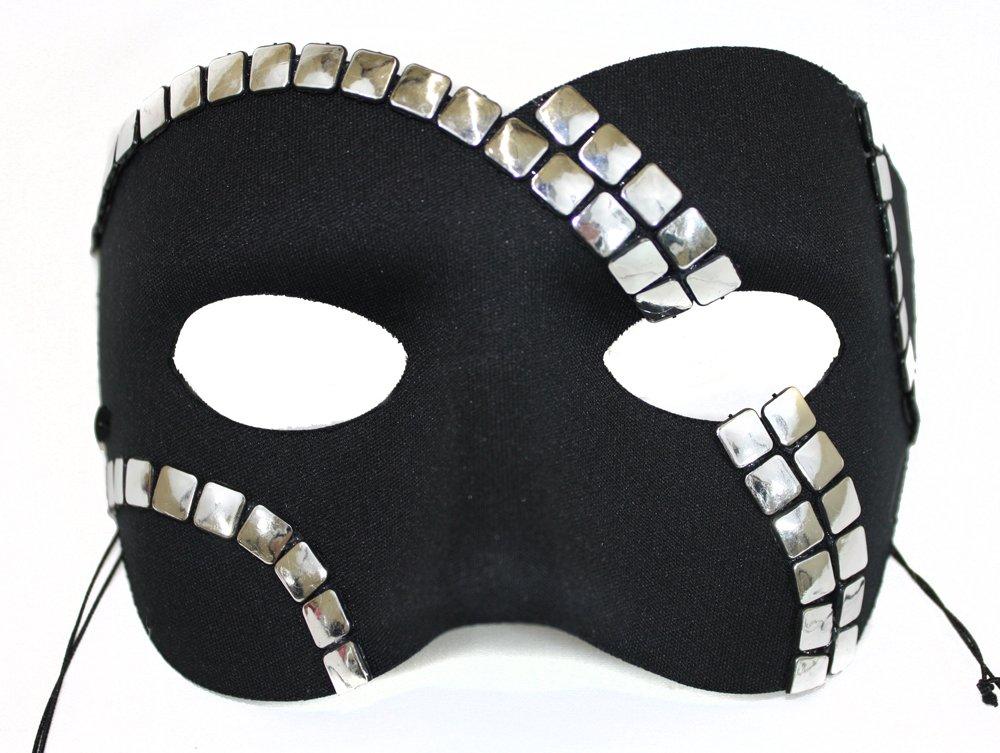 Success Creations Luminary III Men's Masquerade Mask Black