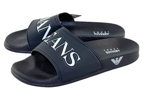new styles c17c1 e43a0 Armani Jeans - Sandali alla schiava Uomo , blu (Blau), 43 ...