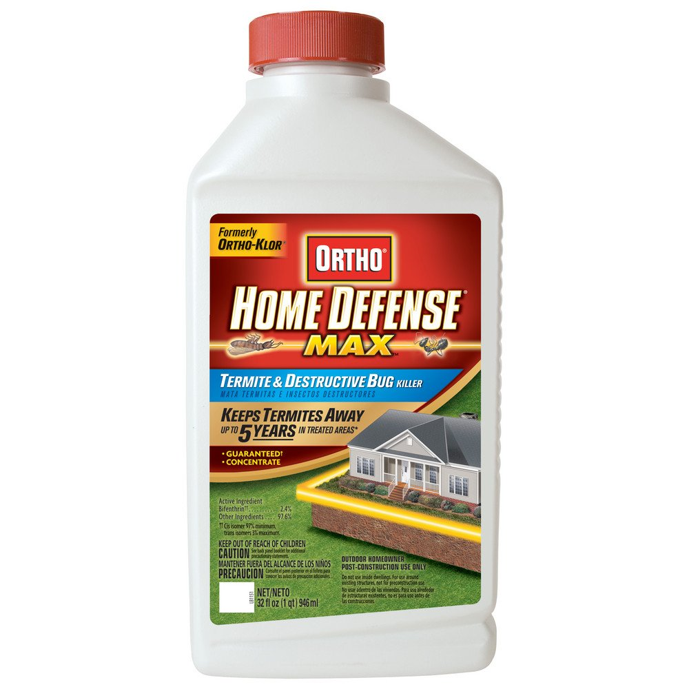 Ortho Home Defense Max Concentrate Termite & Destructive Bug Killer (Case of 6), 32 oz by Ortho