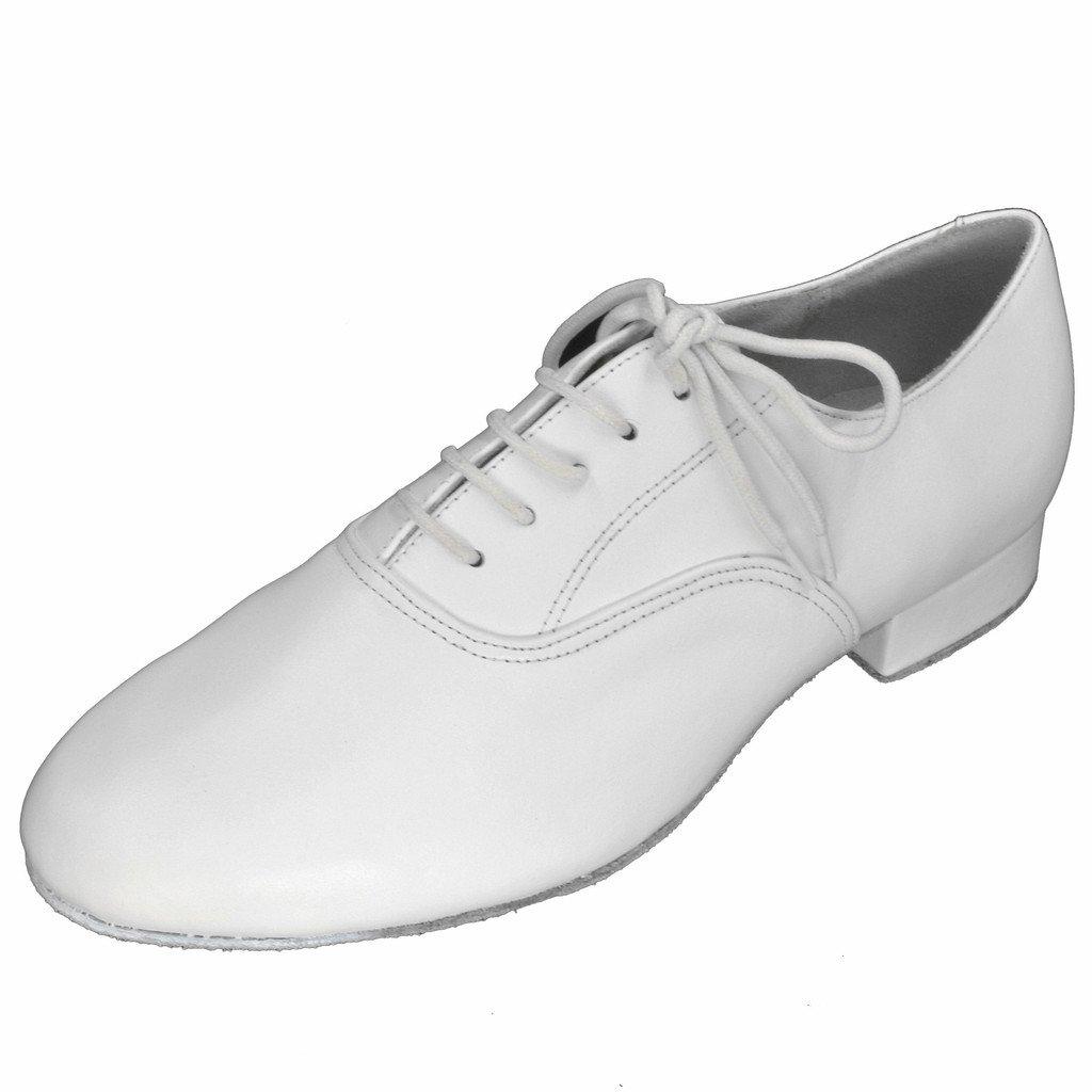 Jig Foo Zapatillas de Baile Estándar Para Hombre, Color Blanco, Talla 42 EU