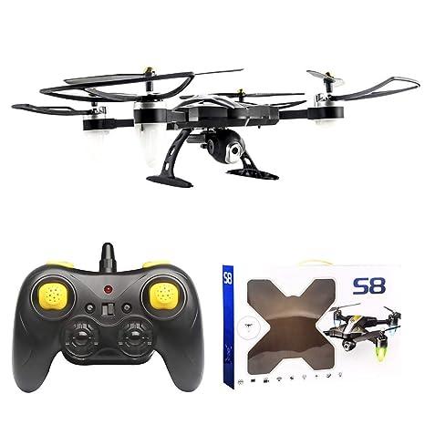 Dron cuadricóptero S9 RC sin escobillas, para principiantes, modo ...