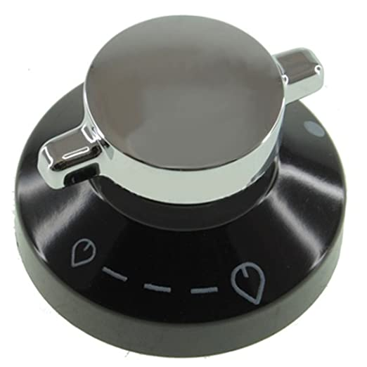 Spares2go Gas mando de control interruptor & eje para Glen Dimplex ...