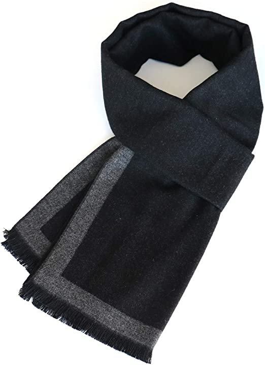Men/'s Fashion Cashmere Silk Scarf Winter Warm Scarves Shawl Cashmere Soft Scarf