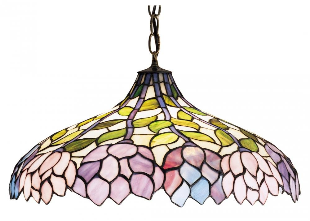 "Meyda Tiffany 30449 Lighting 20"" Width Bronze/Dark"
