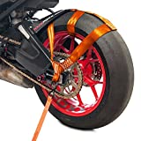 RACEFOXX Lashing Strap for Motorcycles Rear Wheel Transport Lock